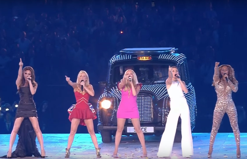 The Spice Girls at the 2012 Olympics