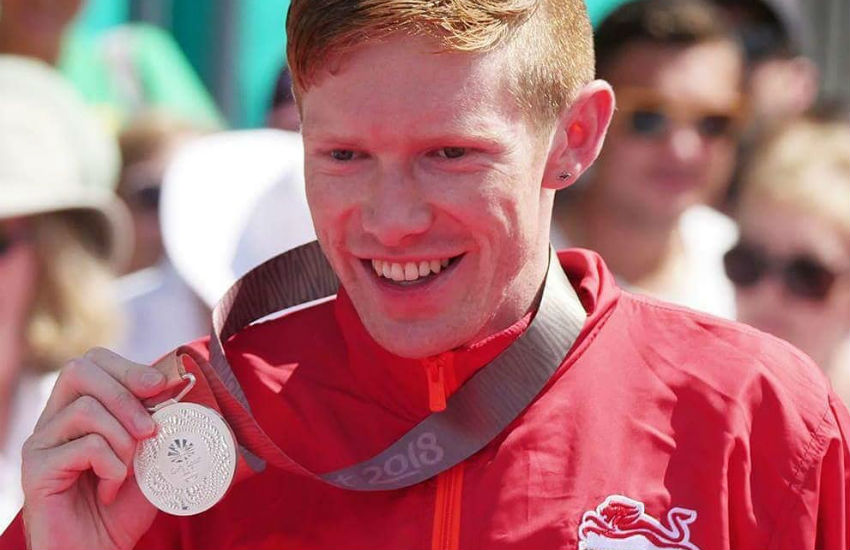 Olympic speed walker Tom Bosworth wins Commonwealth Games silver medal