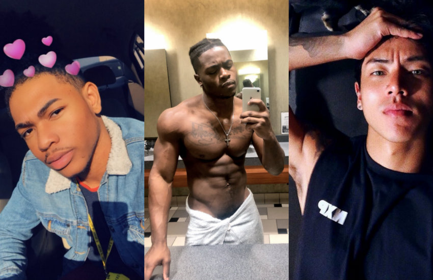 Men of the viral Twitter hashtag and their selfies