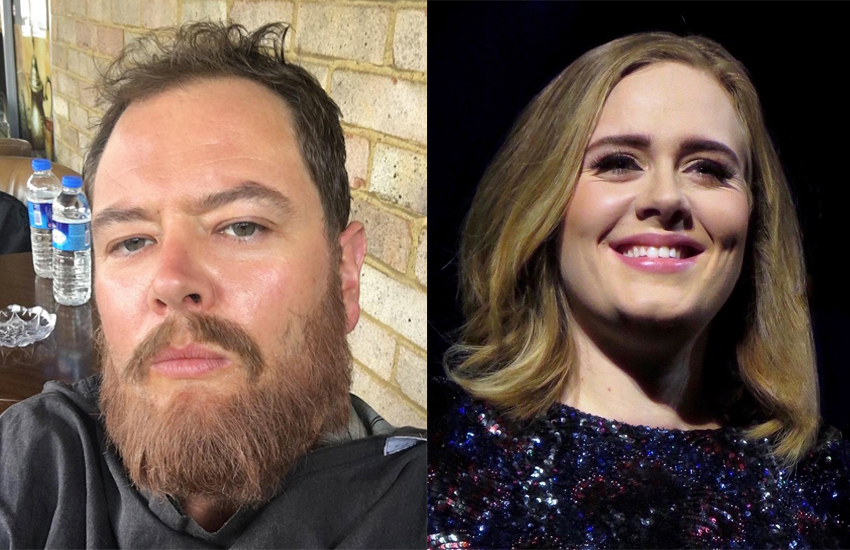 Alan Carr and Adele