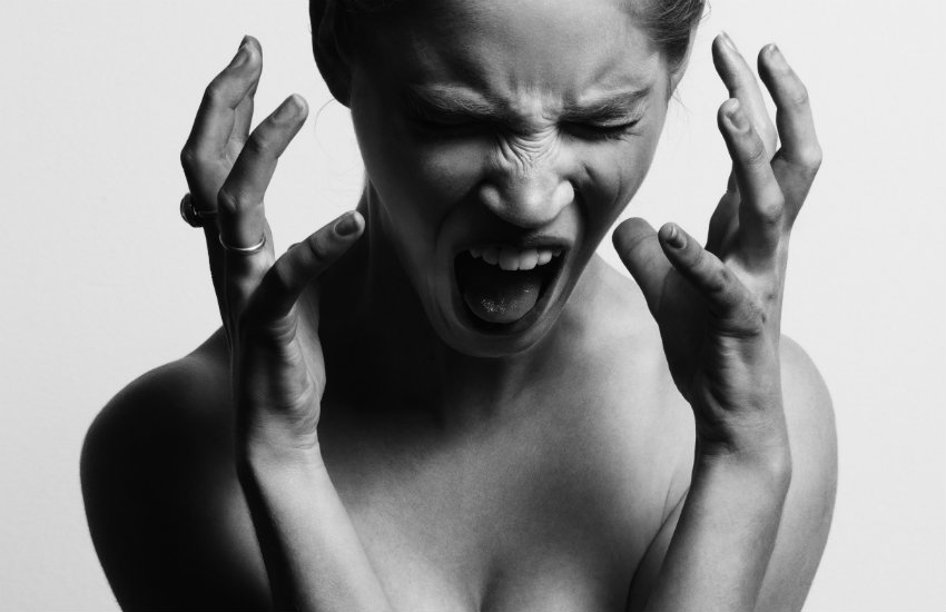 An angry woman image for the feature on healthy anger
