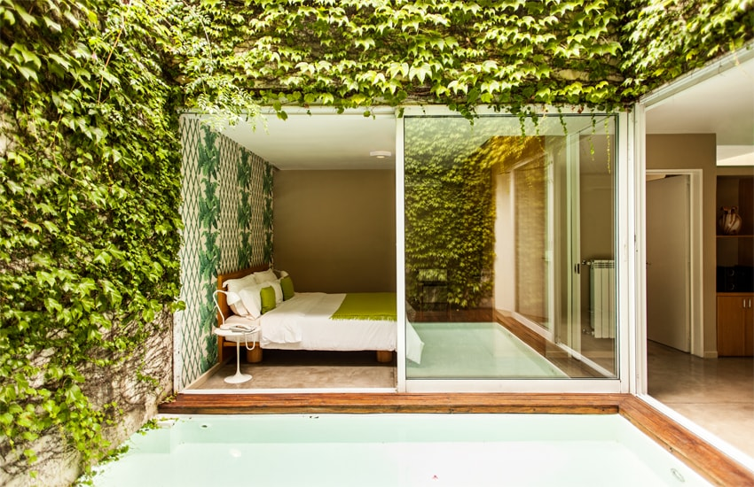 The Garden Suite at Home Hotel in Buenos Aires