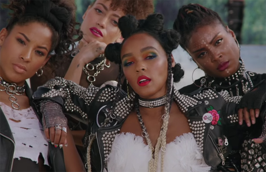 Janelle Monáe in the Dirty Computer film