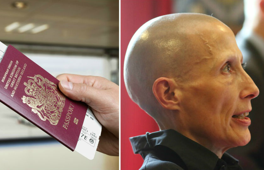 Christie Elan-Cane is challenging the UK government to introduce 'X' passports