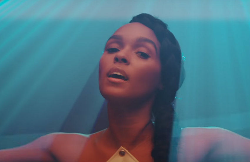 Janelle Monáe in her visual album, Dirty Computer