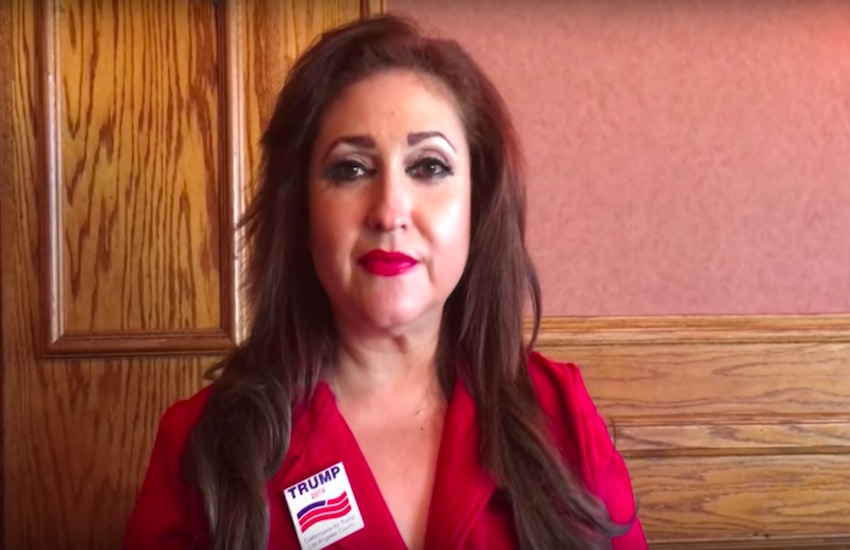 Republican Jazmina Saavedra is a candidate for California's 44th Congressional district