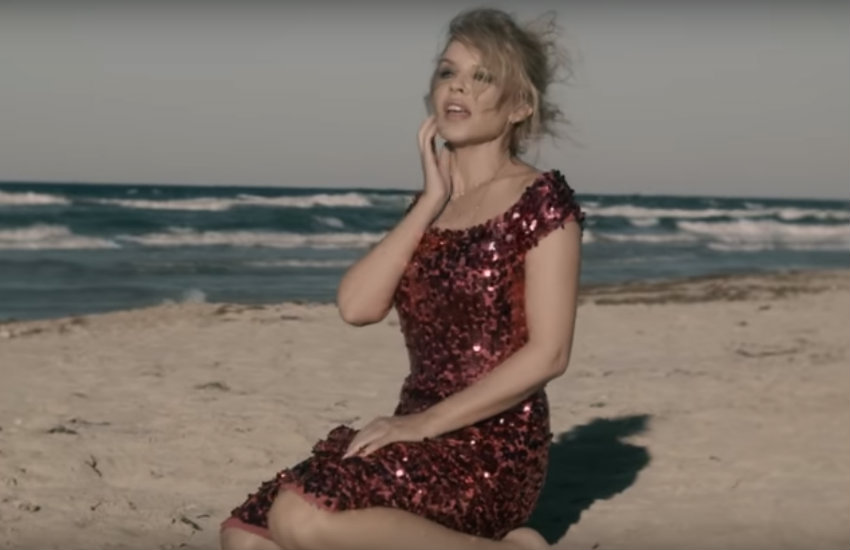 Kylie Minogue in new music video