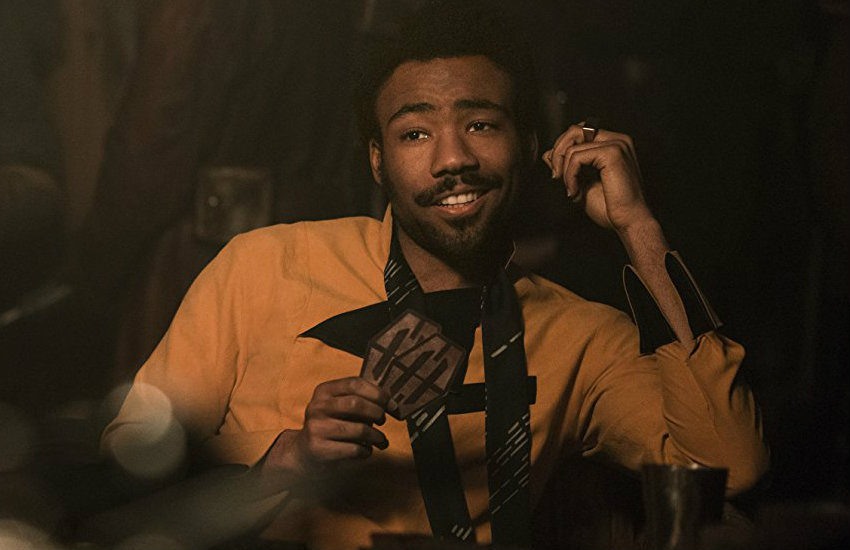 Donald Glove as Lando Calrissian in Star Wars