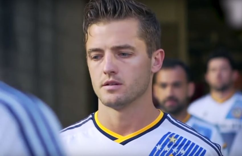 Robbie Rogers in the new documentary