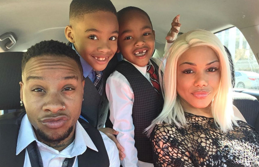 Trans parents Mya and Kennedy Power with their two sons
