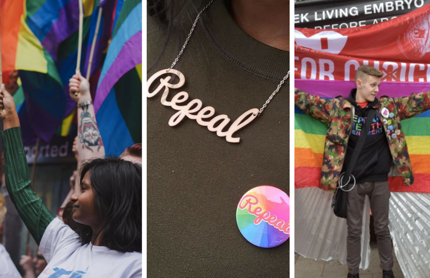 Irland is once again, going #HomeToVote – but this time they could repeal laws that make abortion illegal | Photo: Instagram/Twitter