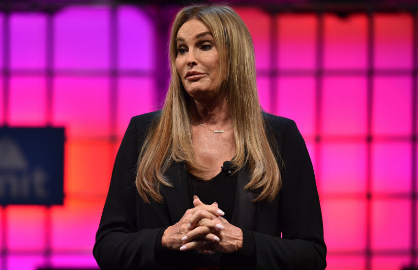 Caitlyn Jenner at a Web Summit 2017 in Lisbon, Portugal