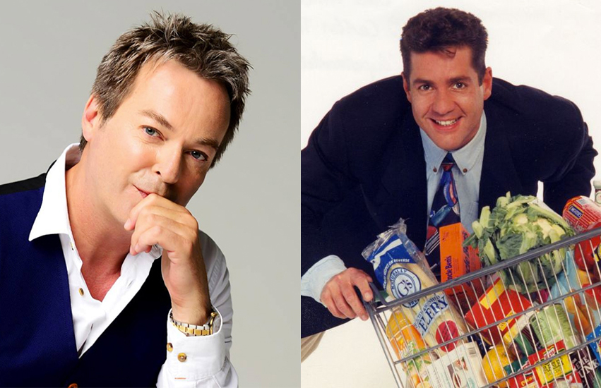 Julian Clary and Dale Winton