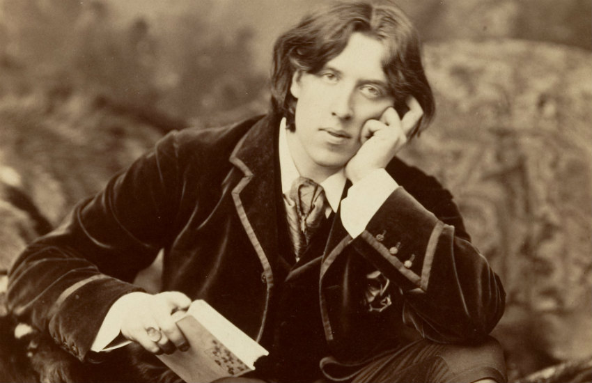 Oscar Wilde, photographed on a US tour in 1882