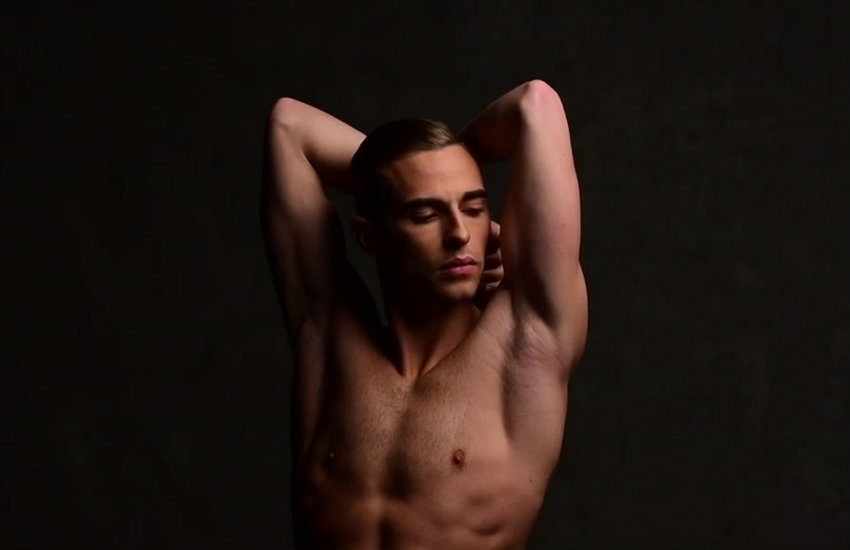 Adam Rippon Cuts Ice With Naked Instagram Cover Pic