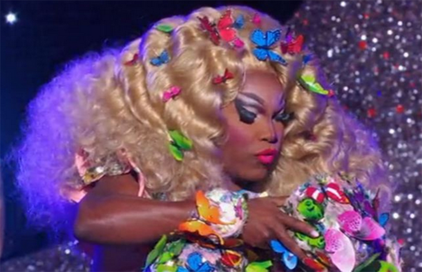Asia O'Hara's lip-sync stunt did not go down well