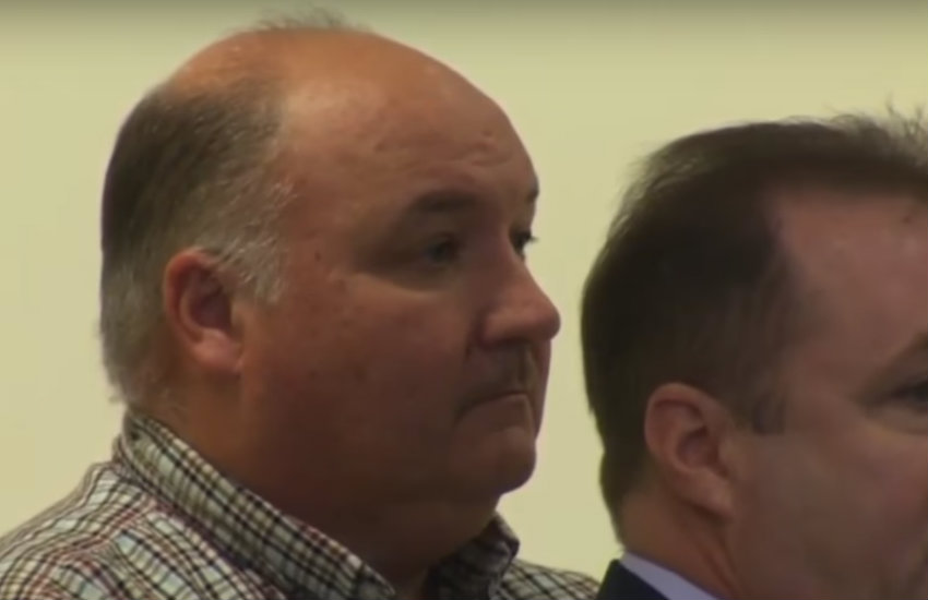 Brian Butler, a Salem police office accused of raping a man