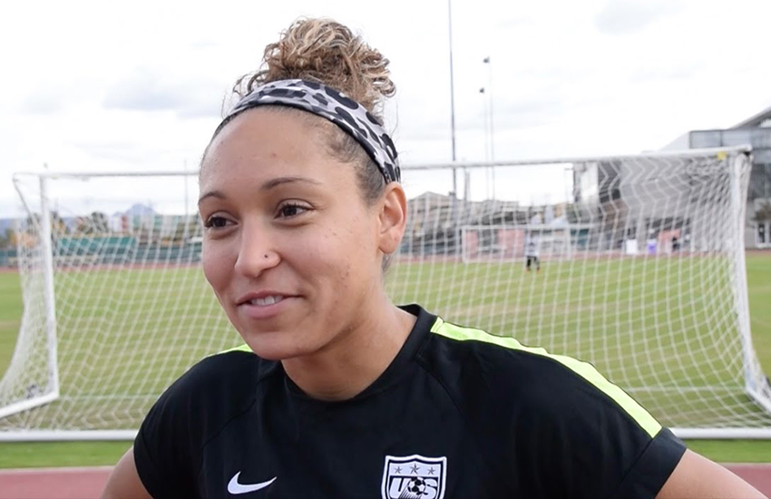 Soccer star Jaelene Hinkle refused US national team place because of LGBT shirt