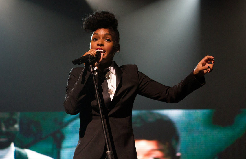 Janelle Monáe performing