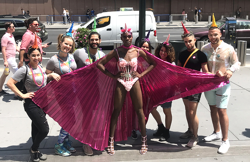 New York comes out to celebrate Pride