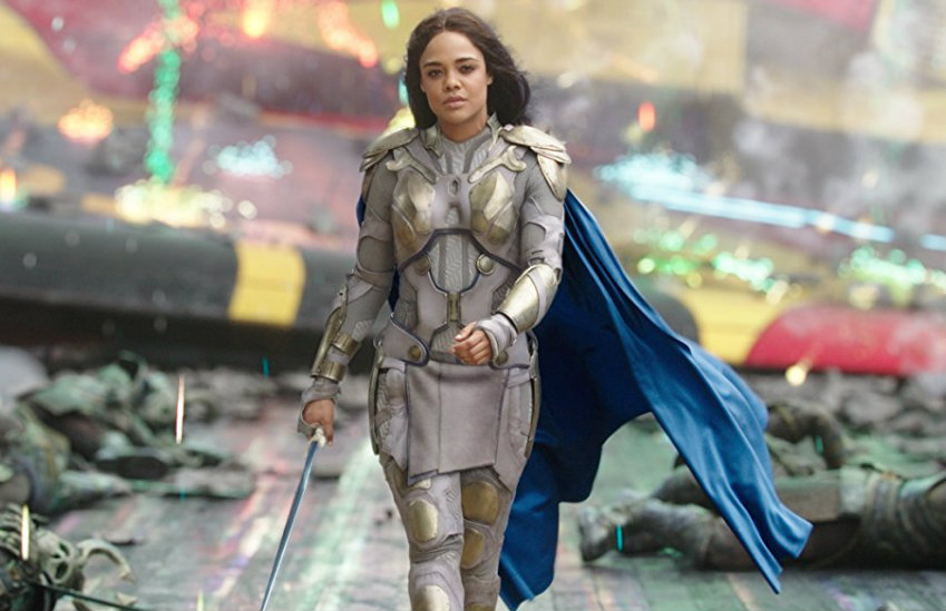Valkyrie from Thor is one LGBTQ character from Marvel