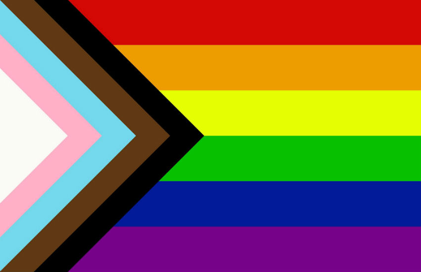 The Pride flag design by Daniel Quasar