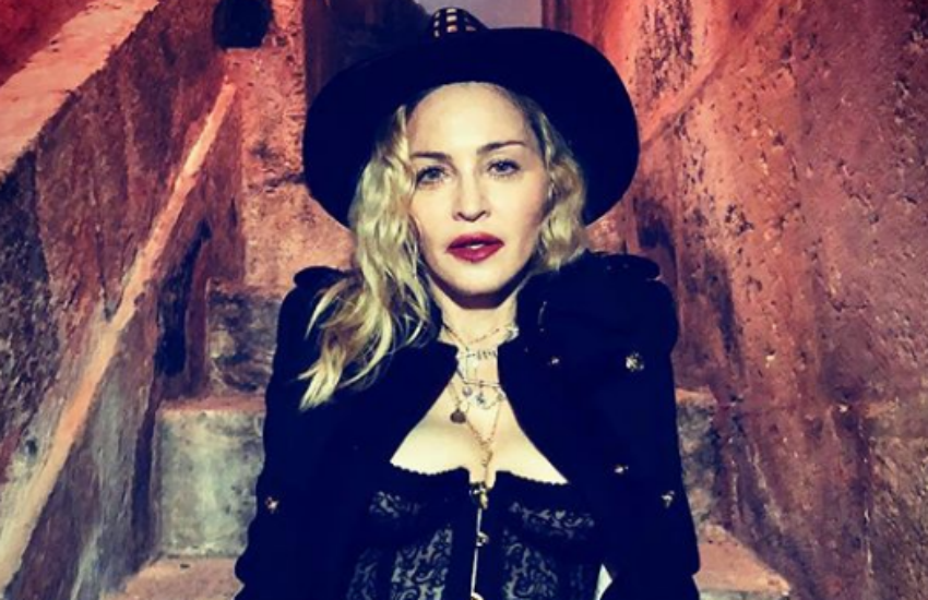 Madonna in Lisbon (Photo: Instagram)