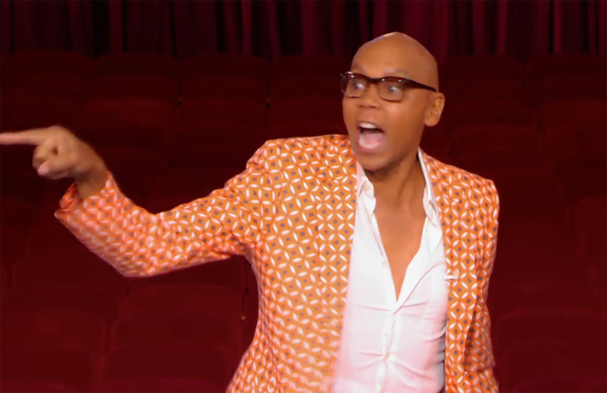 RuPaul on the new episode of Drag Race