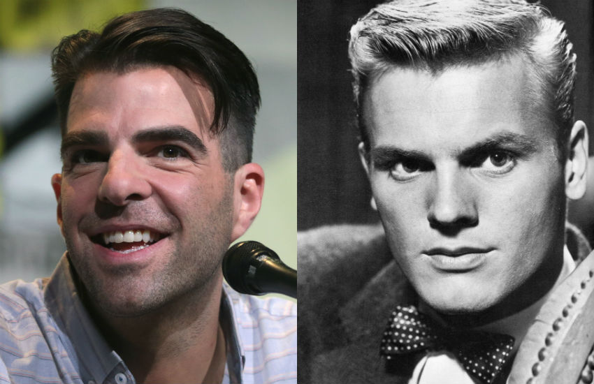 Zachary Quint and Tab Hunter in his 1950s heyday