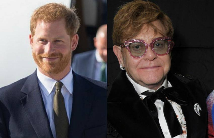 Prince Harry and Elton John (Photo: Instagram)