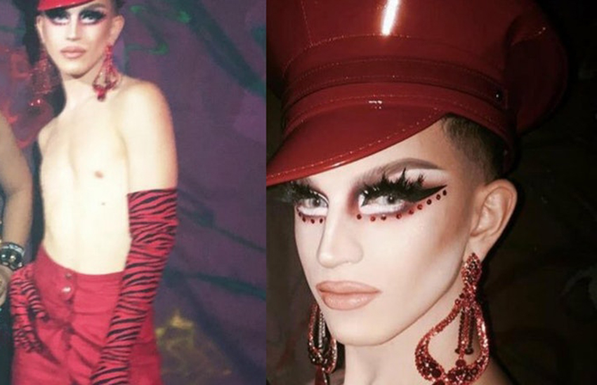 Aquaria looked pissed after being booed off stage | Instagram