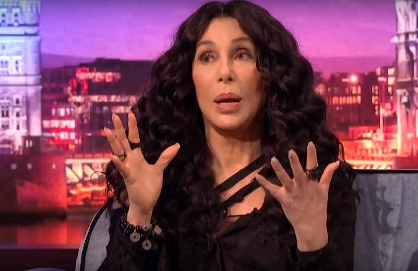 Cher appearing last month on the Late, Late Show with James Corden
