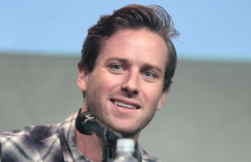 Armie Hammer shares throwback photo