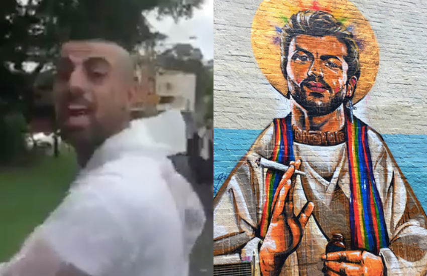 Ben Gittany was found guilty malicious damage on a George Michael mural