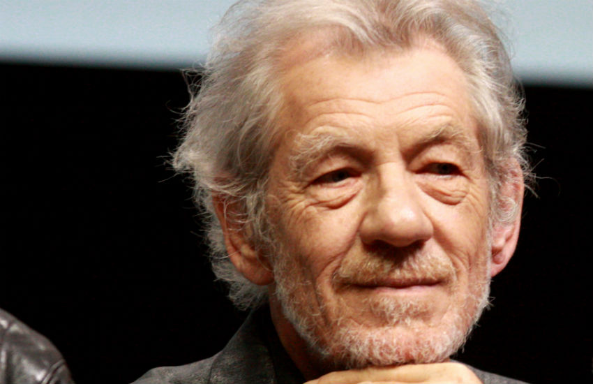 Ian McKellen shares throwback photo