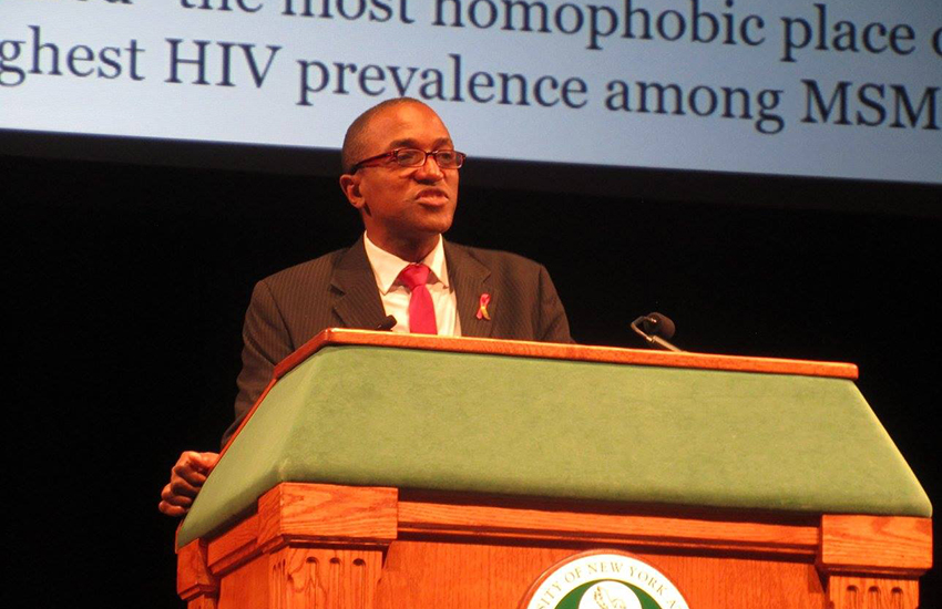 Maurice Tomlinson is fighting for equality in Jamaica.