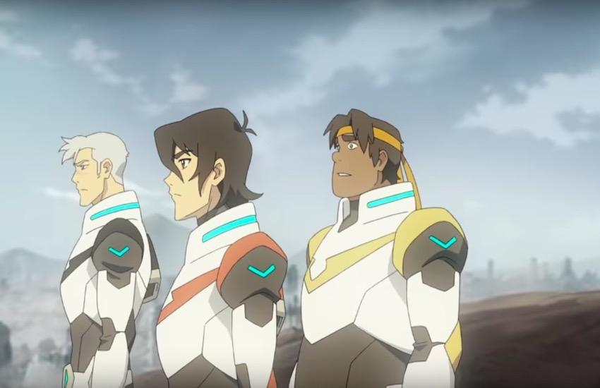 Voltron Legendary Defender character Shiro was revealed to be gay and in an interracial relationship
