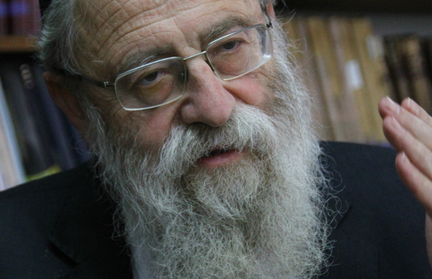 Rabbi Aryeh Stern: Rabbis penned vitriolic letter in support of Stern's comments. Photo| Wikipedia