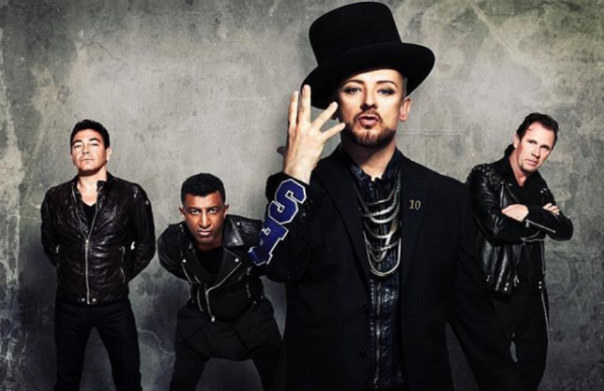 Boy George and Culture Club (Photo: Instagram)