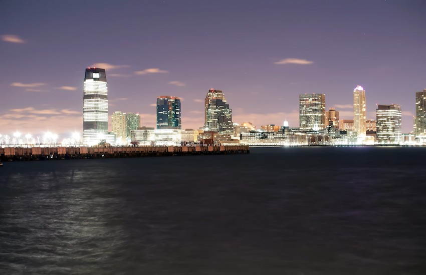 The Newark, New Jersey skyline