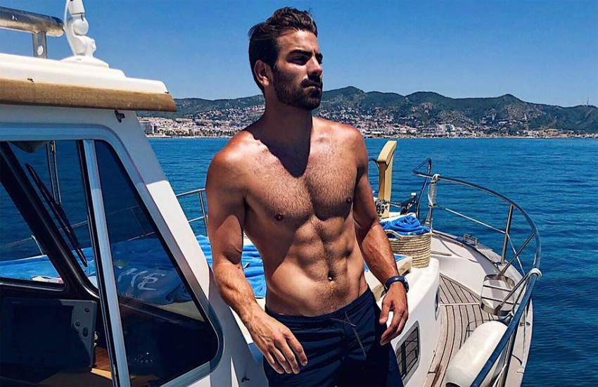 Nyle DiMarco in Sitges, Spain