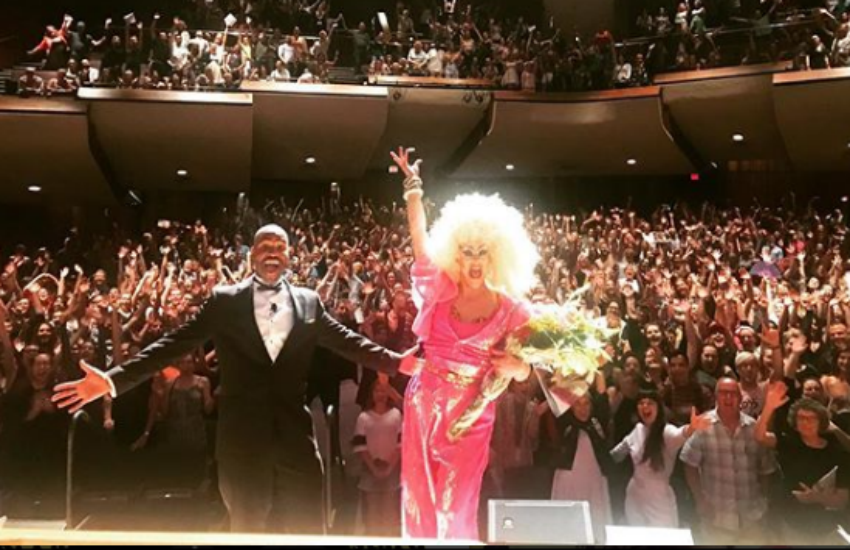 A sold-out crowd for Thorgy's Thorchestra (Photo: Instagram)