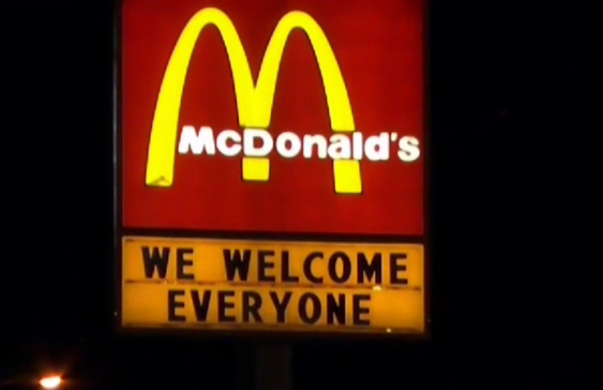 The inclusive McDonalds sign (Photo: NBC)