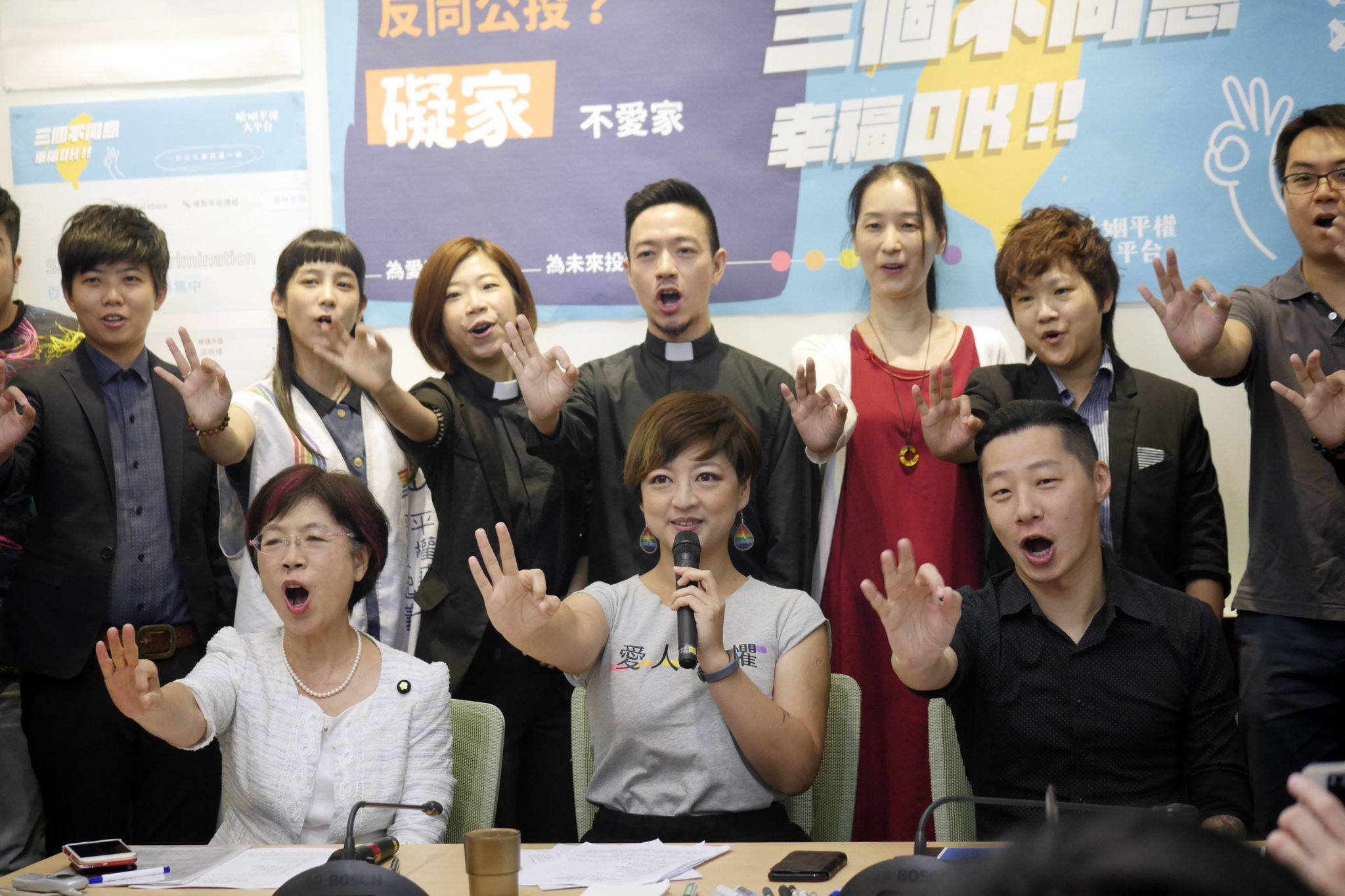 LGBTI activists in Taipei, Taiwan launch equal marriage referendum campaign