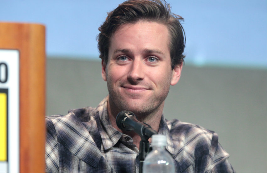 Armie Hammer's message for transphobic person in play's ...