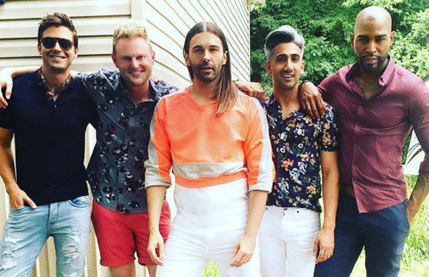 The Queer Eye Fab Five