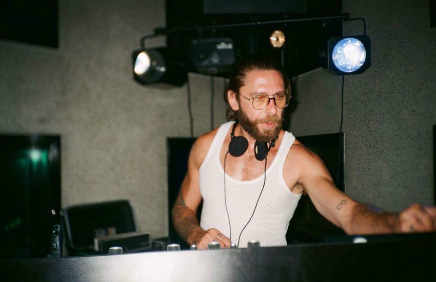 Homodrop playing at FOLD opening party 24-hour club