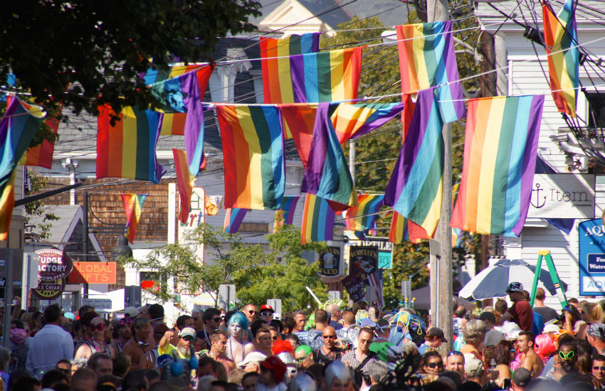 A carnival in Provincetown, Massachusetts