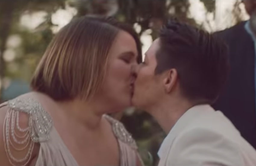 Qantas ad featuring same-sex wedding