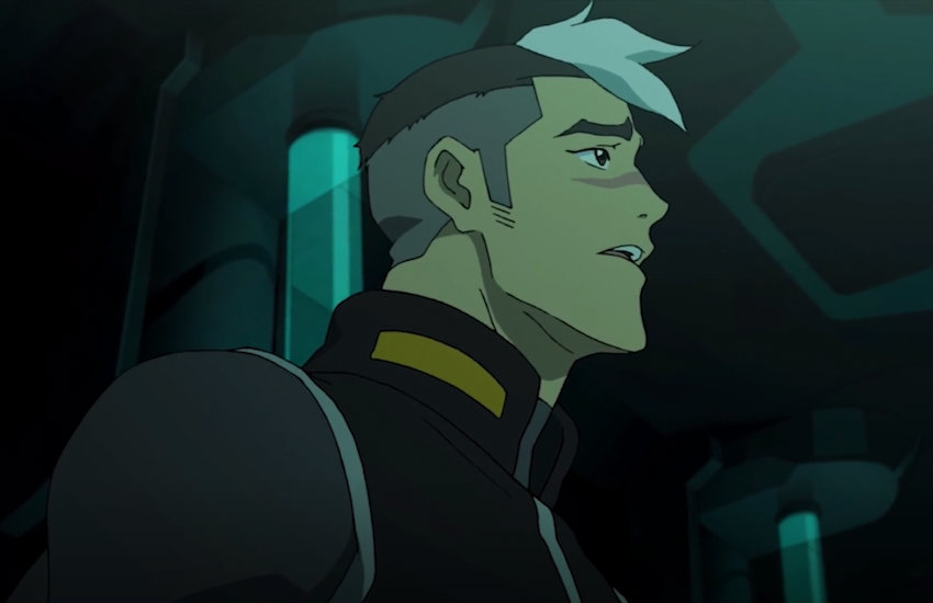 Shiro in Voltron